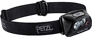 PETZL - TACTIKKA 头灯,CORE 450 流明,带 ACCU 核心,黑色