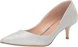 Jewel Badgley Mischka 女式皇家鞋 闪光银 8.5