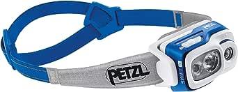 PETZL 中性 - 成人 Swift RL 头灯,蓝色,8 x 8