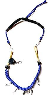 钓鱼系绳。钓鱼工具和配件附件。软垫颈部。可调节。未装货。包含礼品盒。