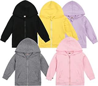 婴儿拉链连帽衫,中性款婴儿幼儿长袖运动衫,轻质夹克连帽外套,秋冬服装
