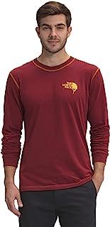 The North Face 男式圆顶长袖攀岩图案 T 恤