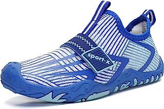 Oauskatan 男童女童水袜赤脚沙滩运动游泳泳池速干轻质水鞋