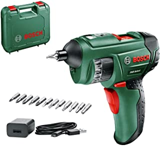 Bosch PSR Select Cordless Screwdriver with Integrated 3.6 V 锂离子 电池