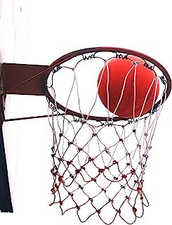 HEQUSigns 3 件装篮球网替换装,篮球篮室内球门网重型适用于儿童/成人篮网,耐用的篮板网适合所有天气,防鞭篮板组件户外用品