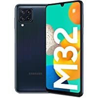 SAMSUNG 三星 Galaxy M32 Android 无合约智能手机,6.4 英寸(约16.25厘米)无限U显示屏…