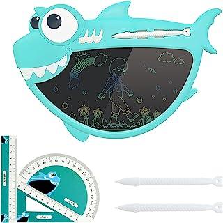 儿童液晶书写平板电脑,8.5 英寸(约 21.9 厘米)可重复使用的 Boogie 数字绘图板,彩色屏幕可擦涂鸦板,书写板*学习玩具和 3-6 岁女孩男孩儿童的礼物