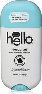 HELLO 清新香体膏,活性炭,2.6 盎司