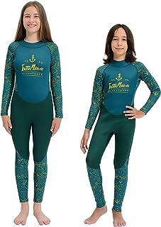 InstaMarine 氯丁橡胶防水套装 男女适用 – 儿童潜水服 适合游泳、潜水、冲浪 – 舒适易穿 – 亲肤材料 – 适合冷水、保护层