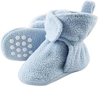 Luvable Friends 婴儿舒适羊毛靴,防滑底边