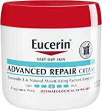 Eucerin 優色林 高級修護霜—無味全身乳液,適合非常干燥的皮膚——16盎司/罐(約453.59克)