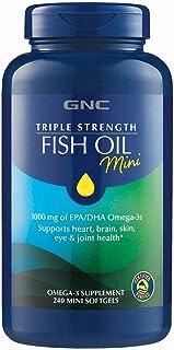 GNC 健安喜 三重强度鱼油迷你,240粒软胶囊
