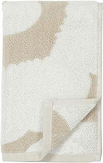 Marimekko 毛巾 客人毛巾 面巾 50×30厘米 UNIKKO 米黄色 ×白色 070232 810
