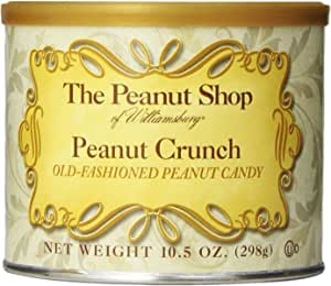 The Peanut Shop of Williamsburg 花生脆饼,10.5 盎司锡