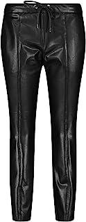 Taifun 女士休闲裤 皮革外观 休闲版型
