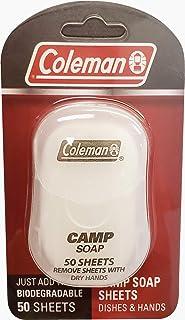 科勒曼洗碗巾和手野营香皂,50 张