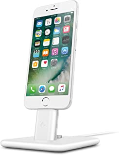 Twelve South HiRise 2 Deluxe for iPhone/iPad, white   Adjustable charging stand with Lightning + Micro-USB cables