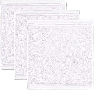 möve Superwuschel 肥皂巾 30 x 30 厘米 * 纯棉 雪白 3 件套