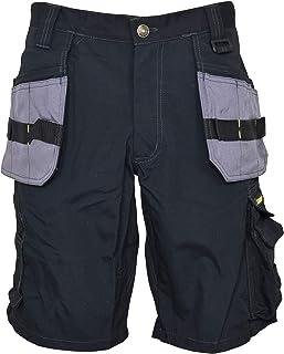 Stanley 短裤,黑色,多口袋,98424,灰色,尺寸 48