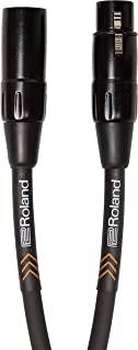 Roland 黑色系列平衡麦克风线,5 英尺/5 英尺 - RMC-B5
