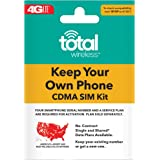 Total Wireless Keep Your Own Phone 3 合 1 预付费 SIM 套件