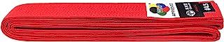 比赛空手道皮带,东京,WKF,棉,红色