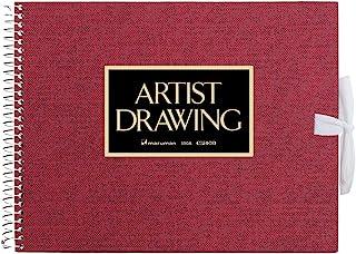 Maruman sketch book artist Medallion F0 Red