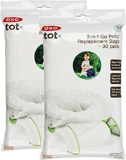 OXO Tot 二合一便携式便盆补充袋,60 个