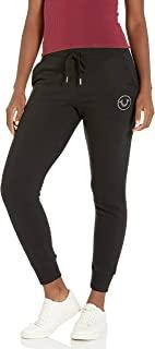 True Religion 女式高筒圆筒高腰修身慢跑运动裤