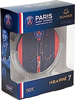 PSG: Signables 签名系列(传真签名)足球签名带球员信息 - 官方收藏家商品(4 英寸,Mbappe)