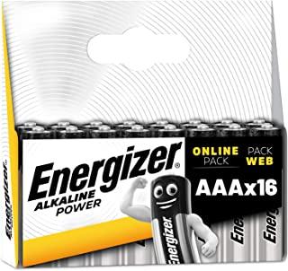 劲量AA电池,碱性电源双A电池E301594200 AAA Energizer Pack of 16