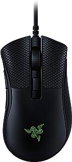 Razer 雷蛇 DeathAdder v2 迷你游戏鼠标:8500K DPI 光学传感器 - 62g 轻质设计 - Chroma RGB 照明 - 6 个可编程按钮 - 包括防滑握带 - 经典黑色