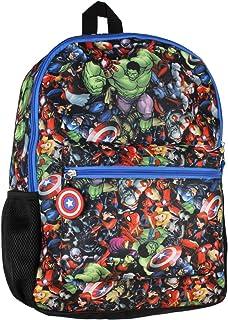 Marvel 复仇者联盟美国队长全身印花升华背包