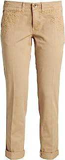 GUESS 女式 BERTA 斜纹棉布长裤