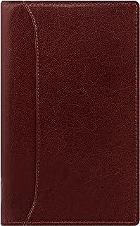 Filofax 系统记事本 Lockwood 窄版 スリム 酒红色
