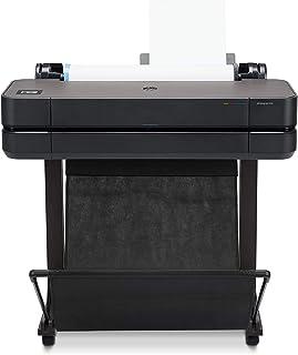 HP 惠普 DesignJet T630 24 英寸打印机(绘图仪,彩色打印至 DIN A1,WLAN,网络)黑色