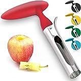 专业苹果Corer不锈钢–易于使用的苹果去核剂,适用于梨子、钟胡椒、富士、蜜脆、Gala 和粉红色女士苹果,Zulay…
