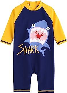 Vaenait 婴儿 0-24M 男童连体泳衣