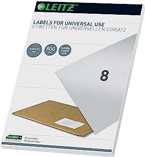 Leitz PC-可书写通用标签 105 x 74 毫米 白色 61740001