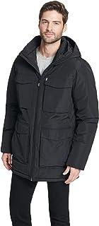 DKNY 男士高性能四口袋派克大衣夹克