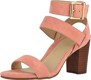 Vionic 女士 Perk Sofia 露趾高跟鞋 - 女士系带高跟凉鞋,带隐形*足弓支撑