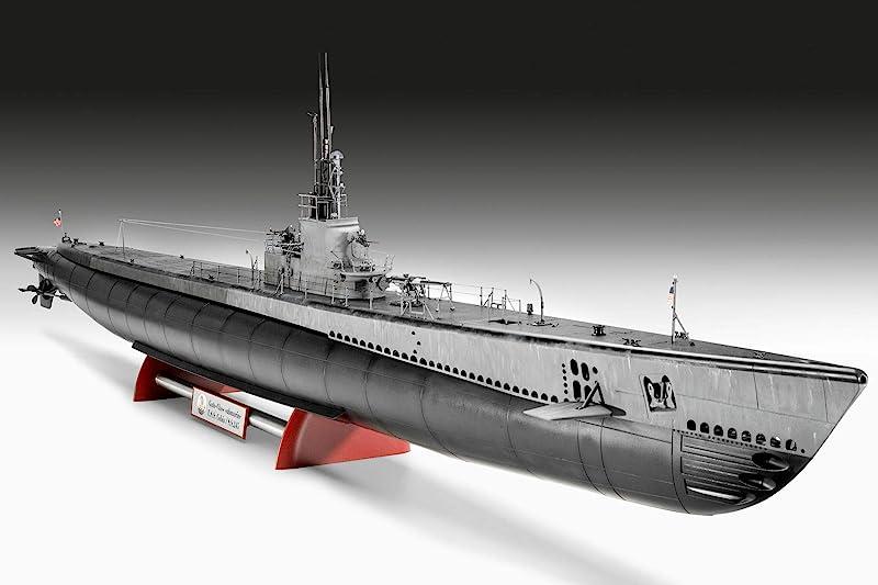 Revell 威望 05168 铂金版 1:72 小鲨鱼级美国海军潜艇模型 积木玩具 长1.32米 镇店之宝¥817.62