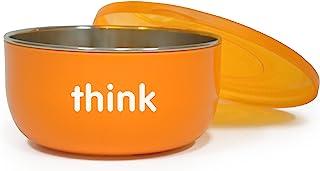 Thinkbaby 高腰不含 BPA 婴儿碗(橙色)