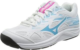 Mizuno 美津浓 Stealth Star 青少年手球鞋,白色/蓝色/雅典娜,39 EU