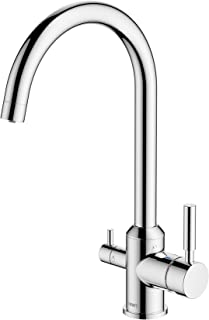 BWT BWTDWFK-TRI FLO 高级饮用水过滤系统,镀铬表面
