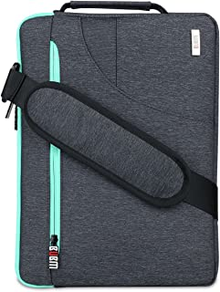 BUBM 8-11.6 英寸笔记本电脑内胆包平板电脑保护套适用于 MacBook Air 11.6 英寸电脑包三星 Galaxy Tab Pro 防水黑色BUBM-US-Laptop-11-Black 11.6 inch