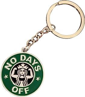 星巴克爱好者的可爱钥匙链,男女皆宜的钥匙链,女孩礼物 - 5 种美丽设计 | 趣味钥匙链