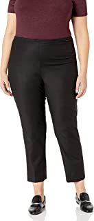 NIC+ZOE 女式加大码完美裤侧拉链及踝长度