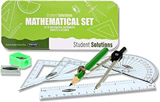 Premier Stationery 学生解决方案数学套装,9 件毛毡*