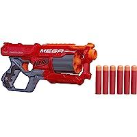 Hasbro 孩之宝 Nerf 热火 N-Strike Elite Mega Cyclone 冲击波玩具枪,多色